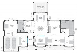 Design Floor Plans for Home Bronte Floorplans Mcdonald Jones Homes