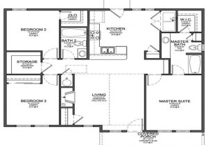 Design Floor Plans for Home Small 3 Bedroom Floor Plans Small 3 Bedroom House Floor