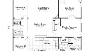 Design Floor Plans for Home Wellington 40483a Manufactured Home Floor Plan or Modular