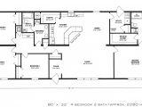 Design Floor Plans for Homes 4 Bedroom Floor Plan F 1001 Hawks Homes Manufactured