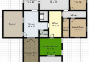 Designing A House Plan Online for Free Draw Floor Plan Online Free Architecture Unique House