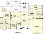 Direct From the Designers House Plans the Chesnee House Plans First Floor Plan House Plans by
