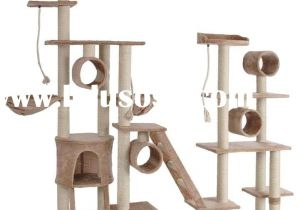 Diy Cat Tree House Plans Cool Cat Tree if I Had All the Time In the World