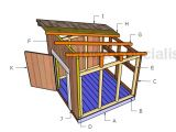Diy Duck House Plans Duck House Roof Plans Howtospecialist How to Build