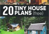 Diy Home Building Plan 20 Free Diy Tiny House Plans to Help You Live the Small