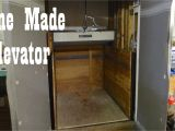 Diy Home Elevator Plans Antique Home Made Freight Elevator Hillsville Youtube