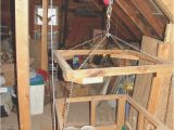 Diy Home Elevator Plans Hoisting tools to the attic the Garage Journal Board