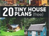 Diy Home Plans 20 Free Diy Tiny House Plans to Help You Live the Small