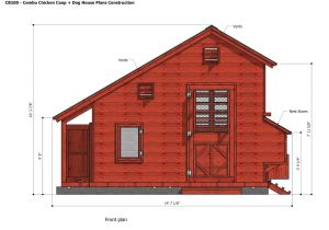 Dog House Construction Plans Home Garden Plans Cb100 Combo Plans Chicken Coop