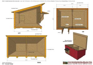 Dog House Construction Plans Home Garden Plans Dh100 Insulated Dog House Plans Dog