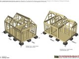 Dog House Construction Plans Home Garden Plans Dh300 Insulated Dog House Plans