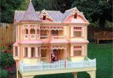 Doll House Plans for Barbie 04 Fs 152 Victorian Barbie Doll House Woodworking Plan