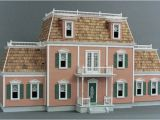 Doll House Plans Woodwork General Large Victorian Dollhouse Plans