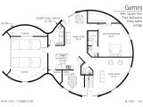Dome Home Plans Free Two Floor Round Home with Garage Alternative Homes