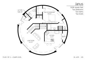 Dome Homes Floor Plans Floor Plan Dl 4015 Monolithic Dome Institute