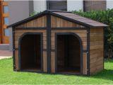Double Door Dog House Plans Diy Double Door Dog House Insulated Dog House Plans 15