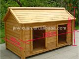 Double Door Dog House Plans Wood Double Dog Kennel Outdoor Large Dog House for Two