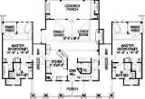 Double Master Suite House Plans Luxury Ranch Style House Plans with Two Master Suites