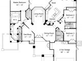 Double Master Suite House Plans One Story Home Plans with Two Master Suites