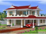 Double Storey Home Plans 2250 Sq Ft 4 Bhk Double Storey House Design Kerala Home
