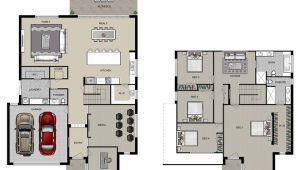 Double Storey Homes Plans Manhattan Homes Double Storey Homes