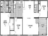 Double Wide Mobile Home Plan Manufactured Homes Floor Plans Floor Plans Mount Russell