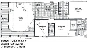 Double Wide Trailer Homes Floor Plans Double Wide Floorplans Mccants Mobile Homes