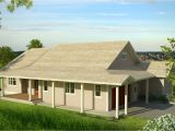 Downhill Slope House Plans New Country House Plan Fits On Downhill Sloping Lot