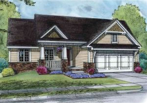 Downsizing Home Plans Comfortable Starter or Downsize Home 42369db