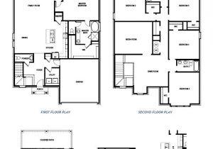 Dr Horton Home Floor Plans 3426 Spokane Paloma Creek Lakeview Little Elm Texas