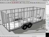 Drawing House Plans with Google Sketchup How to Draw A Tiny House with Google Sketchup Part 1