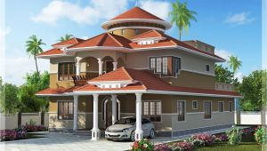 Dream Home Plans with Photo Beautiful Dream Home Design In 2800 Sq Feet Kerala Home