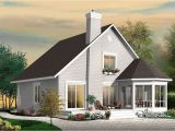 Drummond Home Plans Stunning A Frame 4 Bedroom Cottage House Plan Drummond