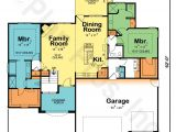 Dual Master Suite Home Plans Sadie 29353 Traditional Home Plan at Design Basics