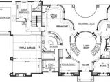 Dual Staircase House Plans Double Staircase Floor Plans House Plans 40060