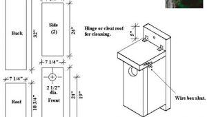 Duck House Plans Instructions Woodwork Goldfinch Birdhouse Plans Pdf Plans