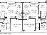 Duplex Home Design Plans Duplex Plan Chp 33733 at Coolhouseplans Com Retirement