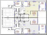Duplex Home Floor Plans 2 Bedroom Duplex Plans with Garage Modern House Plan