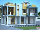 Duplex Home Plans In India Modern Duplex House In India Kerala Home Design and