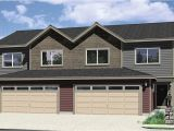 Duplex Home Plans with Garage Duplex House Plans Duplex House Plan with 2 Car Garage D