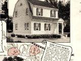 Dutch Colonial House Plans 1930 1920 S Dutch Colonial Floor Plan