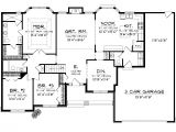 E Home Plans Home Plans with 3 Car Garage Homes Floor Plans