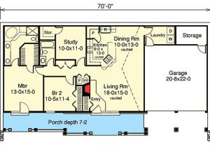 Earth Bermed House Plans Earth Berm Home Plan with Style 57130ha Architectural
