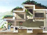 Earth Sheltered Homes Plans and Designs Earth Sheltered Homes and Berm Houses A Great Cutaway