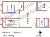 East Face Vastu Home Plan East Facing Vastu Home Plan Homes Floor Plans