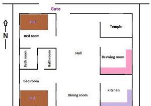 East Facing Vastu Home Plan north East Facing House Plans as Per Vastu north East