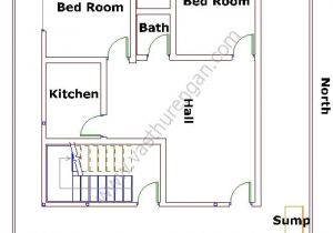 East Facing Vastu Home Plan Sump and Bore Well Of An East Facing Home Vasthurengan Com