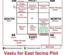 East Facing Vastu Home Plan Vastu for East Facing Plot Vastu Pinterest House