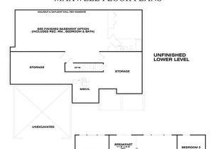 Eastbrook Homes Floor Plans Maxwell Floor Plan by Eastbrook Homes Square Footage 1918