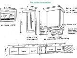 Easy Bat House Plans Build A Bat House Boys Life Magazine Bat Boxes